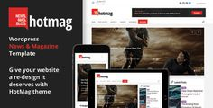Download HotMag – WordPress News, Magazine Responsive Theme