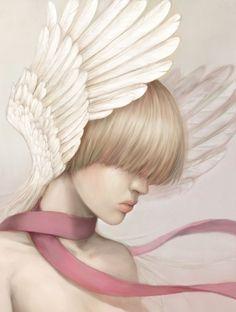 Lovely Angel Fantasy Girl Digital Art Picture