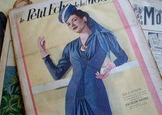 1940 French Fashion Magazine