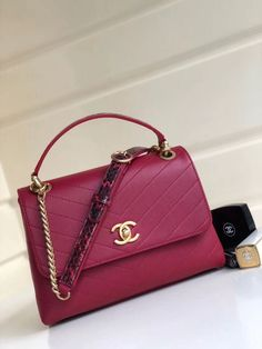 acd0640c5964 Chanel Bags on Sale  Chanel Small Top Handle Bag 100% Authentic 80% Off