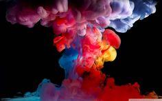 Colorful Smoke 4 Wallpaper 1080p HD HD