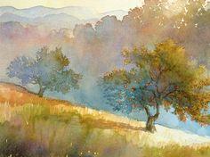 96b1ebb56f6c3538a7f790224349596b--watercolor-landscape-paintings-watercolor-trees.jpg (665×496)