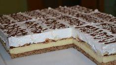 Za ljubitelje banana i cokolade podsjeca na banana split! Czech Recipes, Ethnic Recipes, Mini Cheesecakes, Banana Split, Secret Recipe, Food Cakes, Something Sweet, Sweet Desserts, Cake Cookies