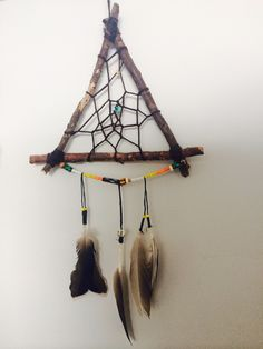 Tried something new! Modern Dream catcher!