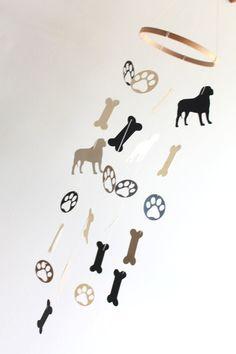Dog Mobile Furbaby Decor Home Puppy English by WhitehallFarmMD
