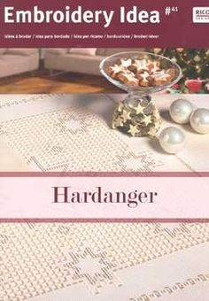Hardanger Christmas Embroidery.