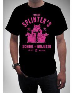 Teenage Mutant Ninja Turtles 'Master Splinters School of Ninjutsu' Tee