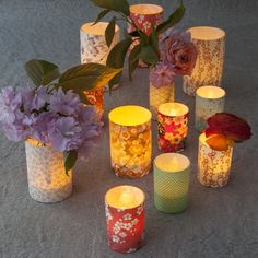 bougie ambiance romantique | Bougie led, photophore led ou chauffe plat led, vous avez le choix ...