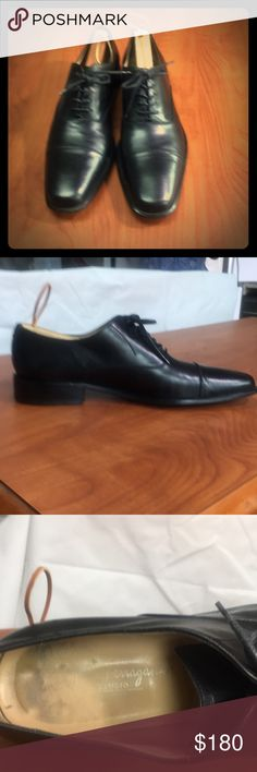 Salevato Ferragamo for men size 12 D Handsome Salvatore Ferragamo derby in smooth leather, lace up, leather sole, slightly squared toe, made in  Italy Salvatore Ferragamo Shoes Oxfords & Derbys