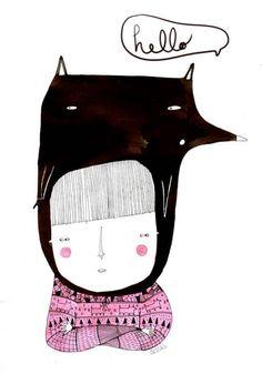 Belas ilustrações da espanhola Amaia Arrazola