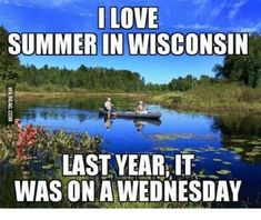 Wisconsinites are hardy, but they know how to laugh at themselves. You have to have a sense of humor to be able to endure life in Wisconsin. Funny Pictures With Captions, Funny Animal Pictures, Funny Images, Funny Animals, Wisconsin Funny, Wisconsin Weather, Top Funny, Funny Shit, Funny Stuff