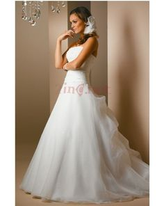 Wedding Gowns Discount Warehouse | ... Layered Ball Gown Wedding Dresses Of Ball Gown With Chapel Train