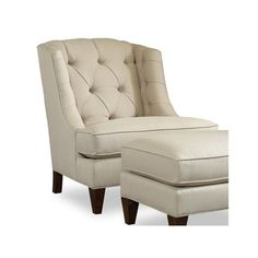 Sam Moore Arden Wingback Chair Finish: Java, Upholstery: 2702 Mocha