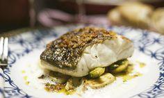 Receitas para um almoço mediterrâneo - Bacalhau fresco