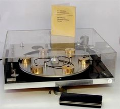 A Rare Transcriptor Hydraulic Reference Turntable (As seen in Stanley Kubrick's film 'A Clockwork