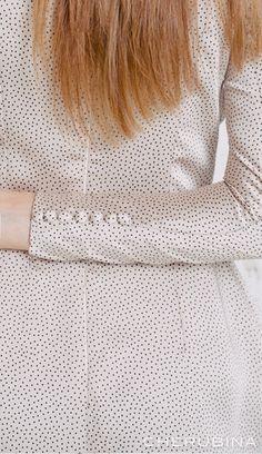 detalles simmone Dresses With Sleeves, Long Sleeve, Fashion, Polka Dots, Full Sleeves, Skirts, Wedding, Moda, Sleeve Dresses