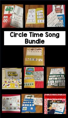Circle Time Song Bundle: Song Choice Board and File Folder Songs Songs For Toddlers, Kids Songs, Preschool Lessons, Preschool Music, Preschool Ideas, Speech Therapy Activities, Time Activities, Toddler Activities, Circle Time Songs