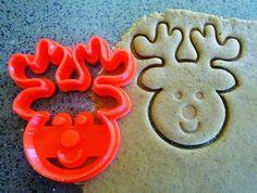 Reindeer 3D Printed Cookie Cutter