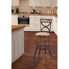 Hillsdale Furniture Healy Indoor/Outdoor Swivel Counter Stool - 6308-826