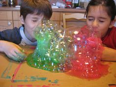 Peinture a bulles