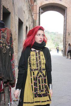 Elizabeth the First afghan balouchi dress#boho chic#hippie style