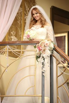 Disney's Jessie Wedding Special—Photo of Debby Ryan's Wedding Dress | OK! Magazine