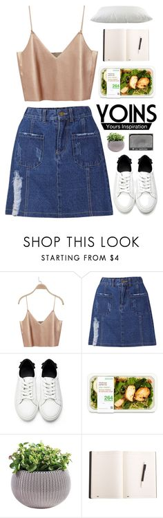 """#650 Yoins 12"" by mia5056 ❤ liked on Polyvore featuring NARS Cosmetics, yoins, yoinscollection and loveyoins"