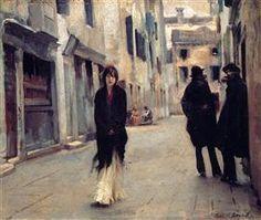 Street in Venice - John Singer Sargent