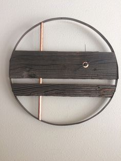 A personal favorite from my Etsy shop https://www.etsy.com/listing/496836753/rustic-barrel-ring-barnwood-clock-195
