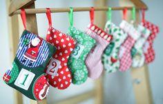 advent Calendar for kids,homemade
