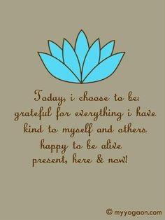 Gratitude is the greatest power.
