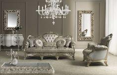 Napoleone Italian Sofa Set Living Room Decor Designs Luxury Homes