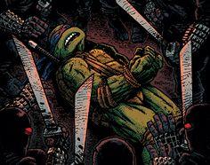 Advance Review: Teenage Mutant Ninja Turtles #23: City Fall Part 2