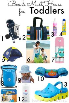 All the important things you need for your baby, toddler and kids to enjoy the beach. Having these beach must haves make life easy for every parent!