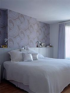 Neutral and calm- wallpaper for bedrooms wall