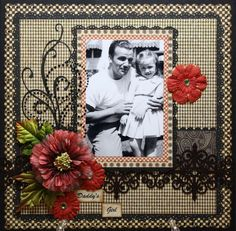 Graphic 45  A Proper Gentleman  Nice Daddy & Me layout