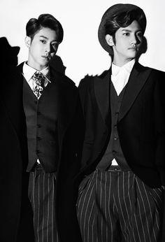 "kpophqpictures: "" [OFFICIAL] TVXQ – Concept Photos For 'Tense' """