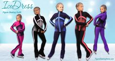 """IceDress Thermal Figure Skating Outfit - Jump https://figureskatingstore.com/icedress-outfits/ Training outfit """"Jump"""" for figure skating is made of the Italian techno-fabric Vuelta and Colorado.  #figureskating #figureskatingstore #figureskates  #iceskates #figureskatingoutfits #figureskatingapparel #figureskatingjacket #figureskatingpants #icedress"""