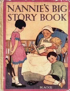 Books vintage on pinterest little golden books louisa for Storybook nanny