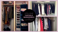 The great thing with capsule wardrobes is that you can start whenever you want. You may want to wait for a new season or a new month to start - don't. The more you delay the less likely you are going to start.  Instead, start now. You don't need anything new except a plan and large boxes. Here is a plan that I would follow if I were getting started with capsule wardrobes.