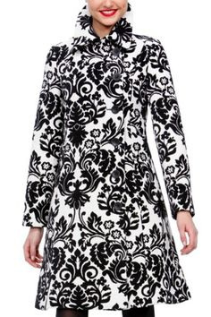 WHITE Desigual....My new coat my sweet hubby bought for me!!!! Bring on the cold weather!!!!