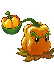 plants vs zombies 2 pepper-pult - Google Search
