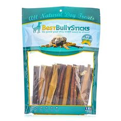 6-inch Premium Standard Odor Free Bully Sticks (25 Pack) - Sourced From Free Range, Grass Fed Beef and Packed with Protein to Support a Healthy Lifestyle *** See this great product. (This is an affiliate link and I receive a commission for the sales)