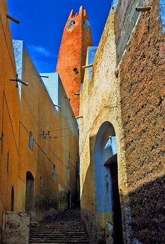 In Ghardaïa, the major city of the M'Zab valley in the Algerian desert