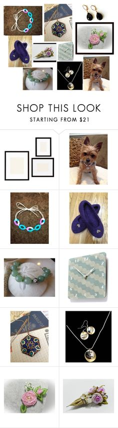 """""""Shopping on Etsy"""" by artistinjewelry ❤ liked on Polyvore featuring Pottery Barn and Lazuli"""