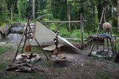愛犬銀とのオールドキャンプ   写風人の薪焚き日和