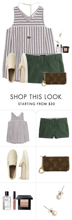 """Going to get ice cream after school"" by flroasburn ❤ liked on Polyvore featuring Olive + Oak, J.Crew, Gap, Louis Vuitton, Bobbi Brown Cosmetics and Kendra Scott"