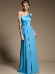 Aquamarine Bridesmaid | Aqua Blue Bridesmaid Dresses