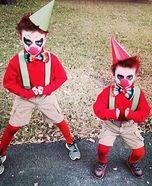 Scary Kid Clown Homemade Costumes & Homemade freddy krueger kids costume | costumes | Pinterest ...