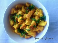 Recipe – BREAD UPMA. Bread Upma is delicious and quick to make breakfast or snack prepared with simple ingredients available in the kitchen. A day or two old bread or fresh bread can be used. It is also a quick option for kid's lunch box sans chillies.  This upma is something I prepare very often at home and you can use any type of bread. It tastes good with toasted bread too. For a healthier version, take multigrain bread and add in your favourite choice of vegetables, eggs too can be…